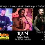 """RAM, el Acústico Beatle Marplatense """"for export"""" en el Cavern Club Buenos Aires"""