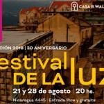 Festival de la Luz 2018 en la Casa Rodolfo Walsh