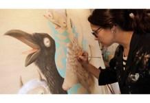 """Katherine Dossman expone """"En Madera#3"""" en el espacioCetol"""