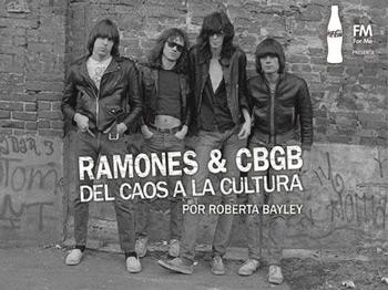 Roberta Bayley - fotógrafa de Los Ramones - en Argentina