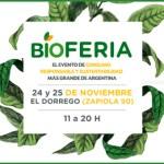 BIÓSFERA, expo de consumo responsable 24 y 25/11 en El Dorrego