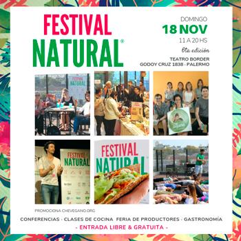 VI Edición del Festival Natural