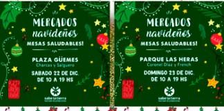 Palermo recibe al Mercado Sabe la Tierra en Pre-Navidad