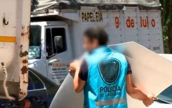 La policía secuestró más de 1200 autopartes robadas