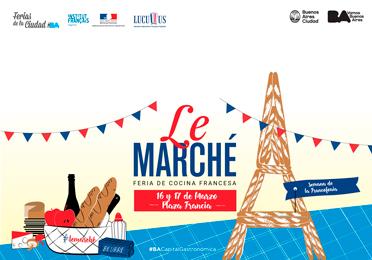 Le Marché 16 y 17 de marzo en Plaza Francia