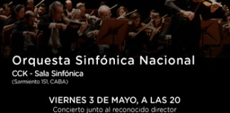 El destacado director Massimo Quarta dirige a la Orquesta Sinfónica Nacional en el CCK