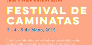 Festival de Caminatas Jane's Walk en la Ciudad del 3 al 5 de mayo de 2019