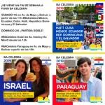 1 y 2 de junio - 8 colectividades en el BA Celebra en Palermo y en Av. de Mayo