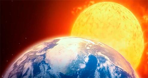 Eclipses de sol en el Planetario Galileo Galilei