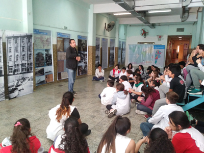 El Museo de la inmigración presente en la Comuna 14