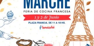 1 y 2 de junio: Le Marché, feria de cocina francesa en Plaza Francia