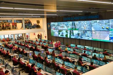 La Ciudad inauguró un Centro de Monitoreo en el barrio de Chacarita