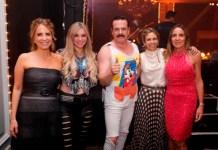 Connie Piuma, Giuliana Busetto , Jorge Busetto y Verónica Zoani