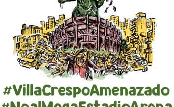 Vecinos Autoconvocados de Villa Crespo convocan a participar de la Audiencia Pública