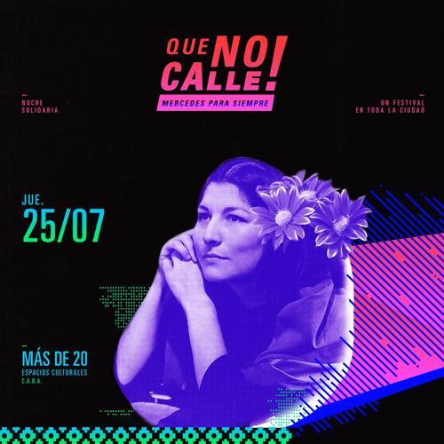 #QueNoCalle 10 años sin Mercedes Sosa