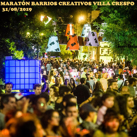 Maratón Barrios Creativos en Villa Crespo