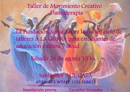 Taller de Movimiento Creativo Danzaterapia