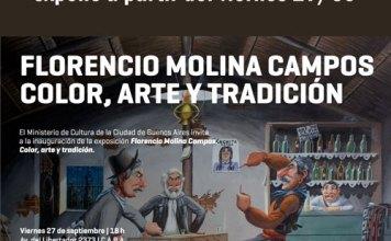 Florencio Molina Campos color, arte y tradición