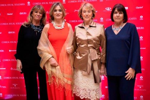 Clara Vázquez Mansilla, Josefina González Guerrico, Elena Basavilbaso y Magdalena Pereyra Lucena
