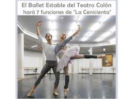 """El Ballet Estable del Teatro Colón hará 7 funciones de """"La Cenicienta"""""""