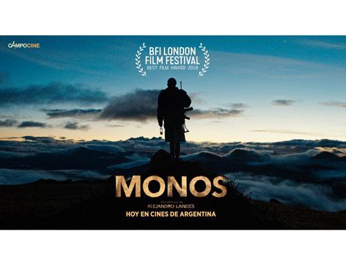 La película de Alejandro Landes, MONOS, acaba de ganar el Premio Mejor Película (Competencia Oficial) de la 63º edición del Festival de Cine de Londres (BFI London Film Festival)