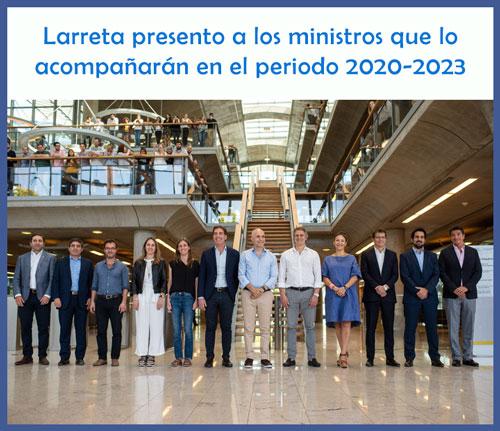 Los ministros que acompañarán a Rodríguez Larreta en el próximo período