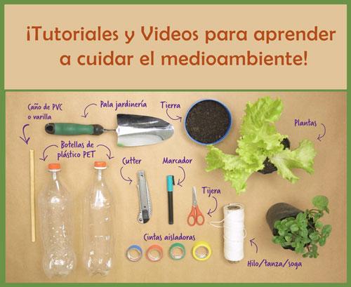 Tutoriales y Videos para cuidar el medioambiente