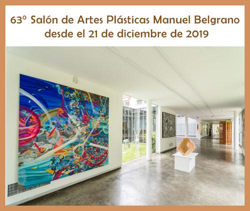 63° Salón de Artes Plásticas Manuel Belgrano