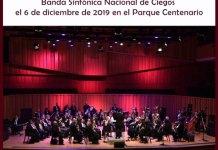 La Banda Sinfónica Nacional de Ciegos en Concierto con Patricia Sosa como invitada