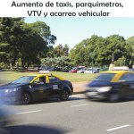 Cuándo aumentan taxis, parquímetros, VTV y acarreo vehicular
