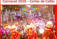 Cortes de calles por el Carnaval 2020 en la ciudad de Buenos Aires