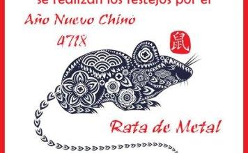El año de la Rata de Metal se celebra el 2 de febrero en la Ciudad