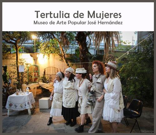 Tertulia de mujeres en el Museo Hernández