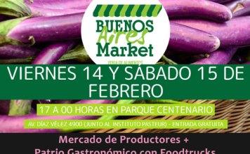 Buenos Aires Market en Parque Centenario el 14 y 15 de febrero