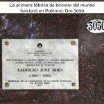 Primera fábrica de Biromes funcionó en Oro 3050 Palermo