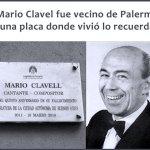 Mario Clavell fue vecino del barrio de Palermo