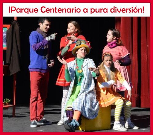 Espectáculos para chicos en el Parque Centenario en febrero 2020