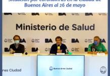 Informe Sanitario del Ministerio de Salud porteño por coronavirus al 26 de mayo 2020