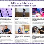 Talleres y tutoriales on line gratuitos