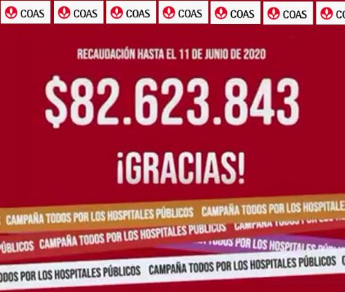 """""""Ayudando te ayudás"""". Campaña COAS/COVID-19 - Nueva rendición hasta el 11 de junio de 2020"""