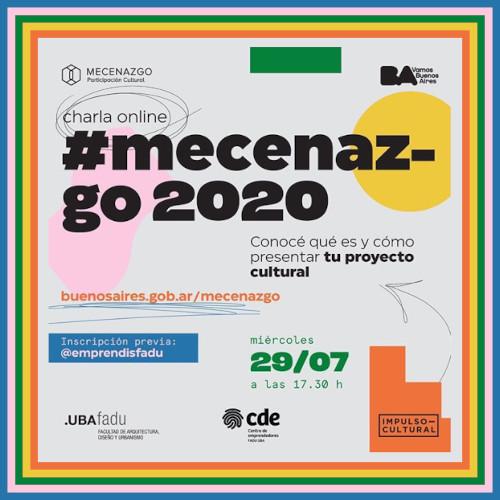 """""""MECENAZGO"""" abierta la inscripción a la Capacitación On Line del 29/07/20"""