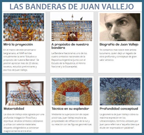 Las banderas de Juan Vallejo