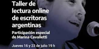 Taller de Lectura Online Escritoras Argentinas