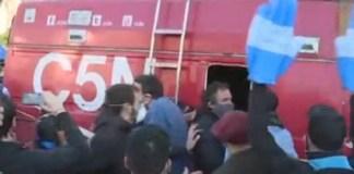 Palermo Repudiamos la agresión que recibieron los periodistas y trabajadores de C5N