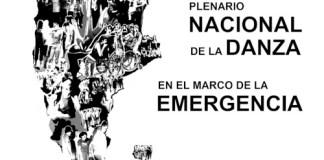 Convocatoria a un Plenario Nacional de la Danza en el marco de la Emergencia