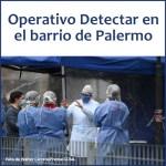 El Operativo DetectAR hoy en Palermo