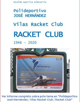 """Ver informe completo sobre este tema en """"Polideportivo José Hernández / Vilas Racket Club / Racket Club"""""""