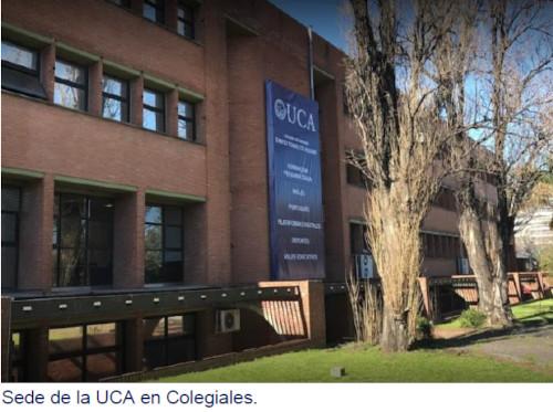Sede de la UCA en Colegiales.
