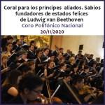 Ciclo Beethoven, Coro Polifónico Nacional.