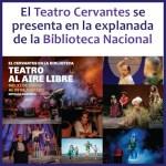 El Teatro Cervantes se presenta en la Biblioteca Nacional